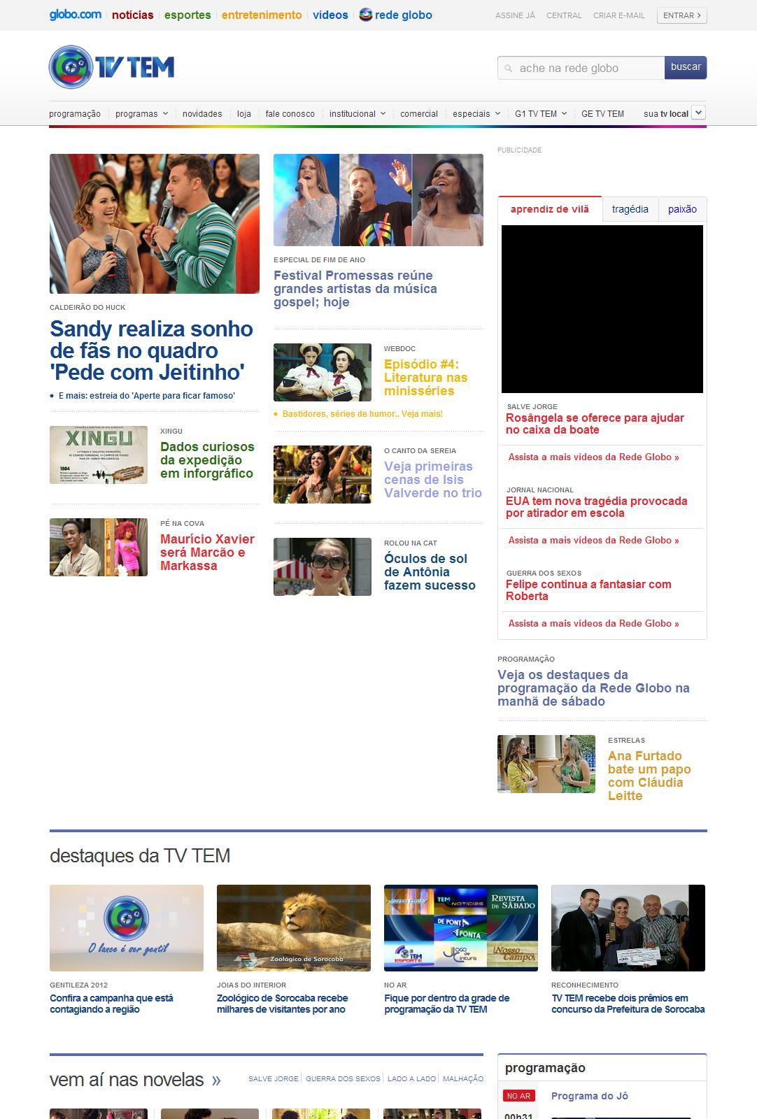 Rede Globo > TV TEM