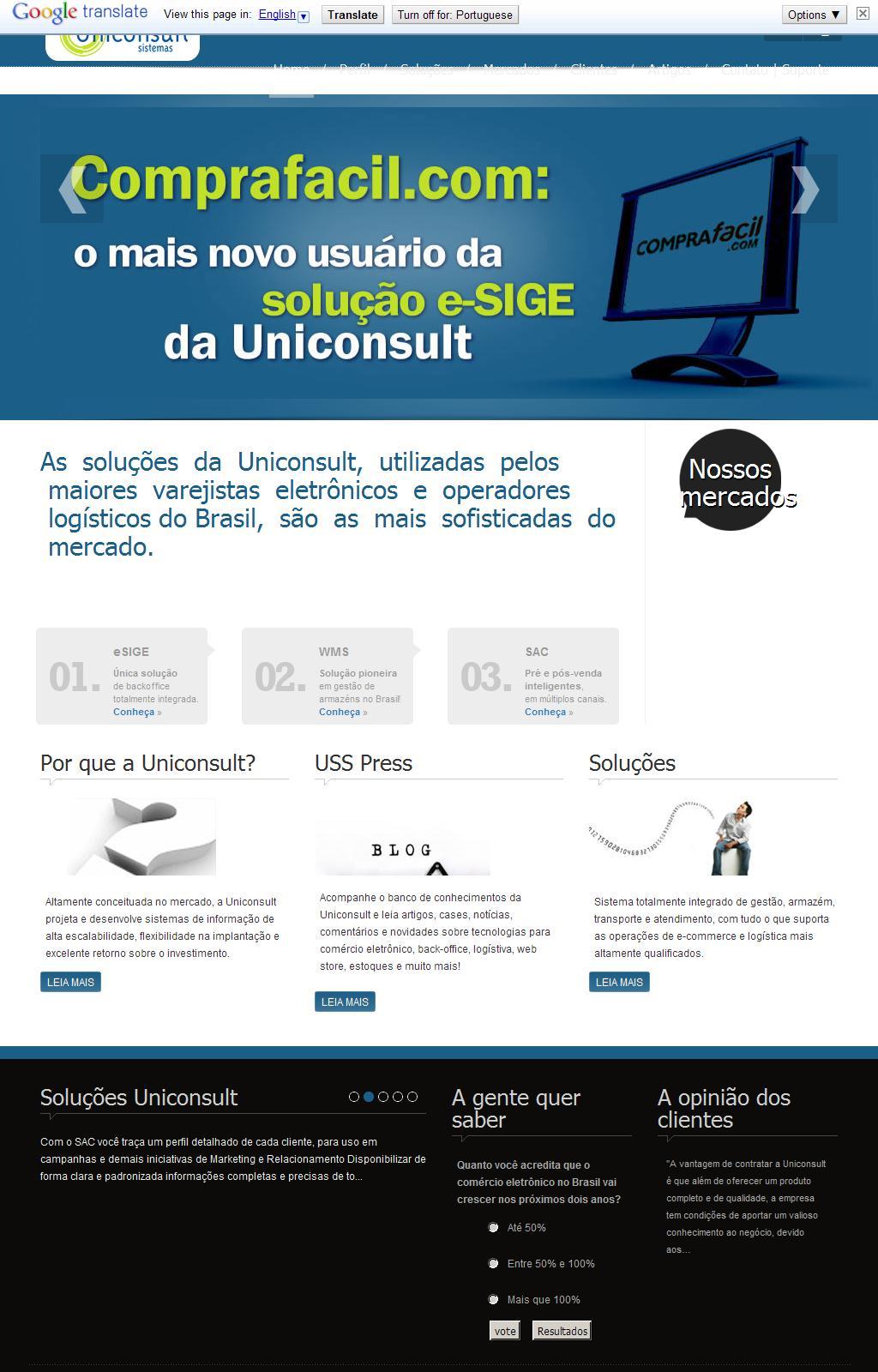 Uniconsult Sistemas de e-Commerce e Logística
