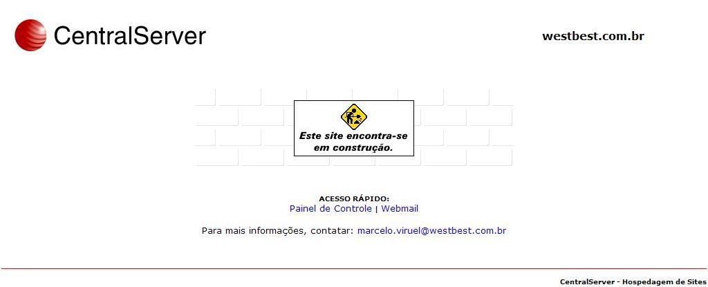 westbest.com.br - CentralServer - Hospedagem de Sites