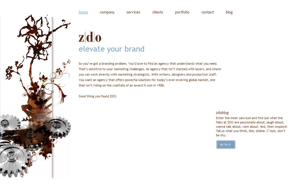 ZDO - Elevate Your Brand - Home