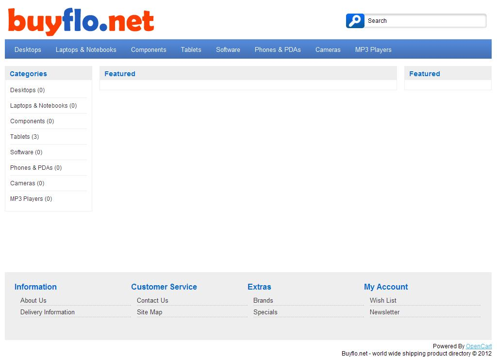 Buyflo.net - world wide shipping product directory