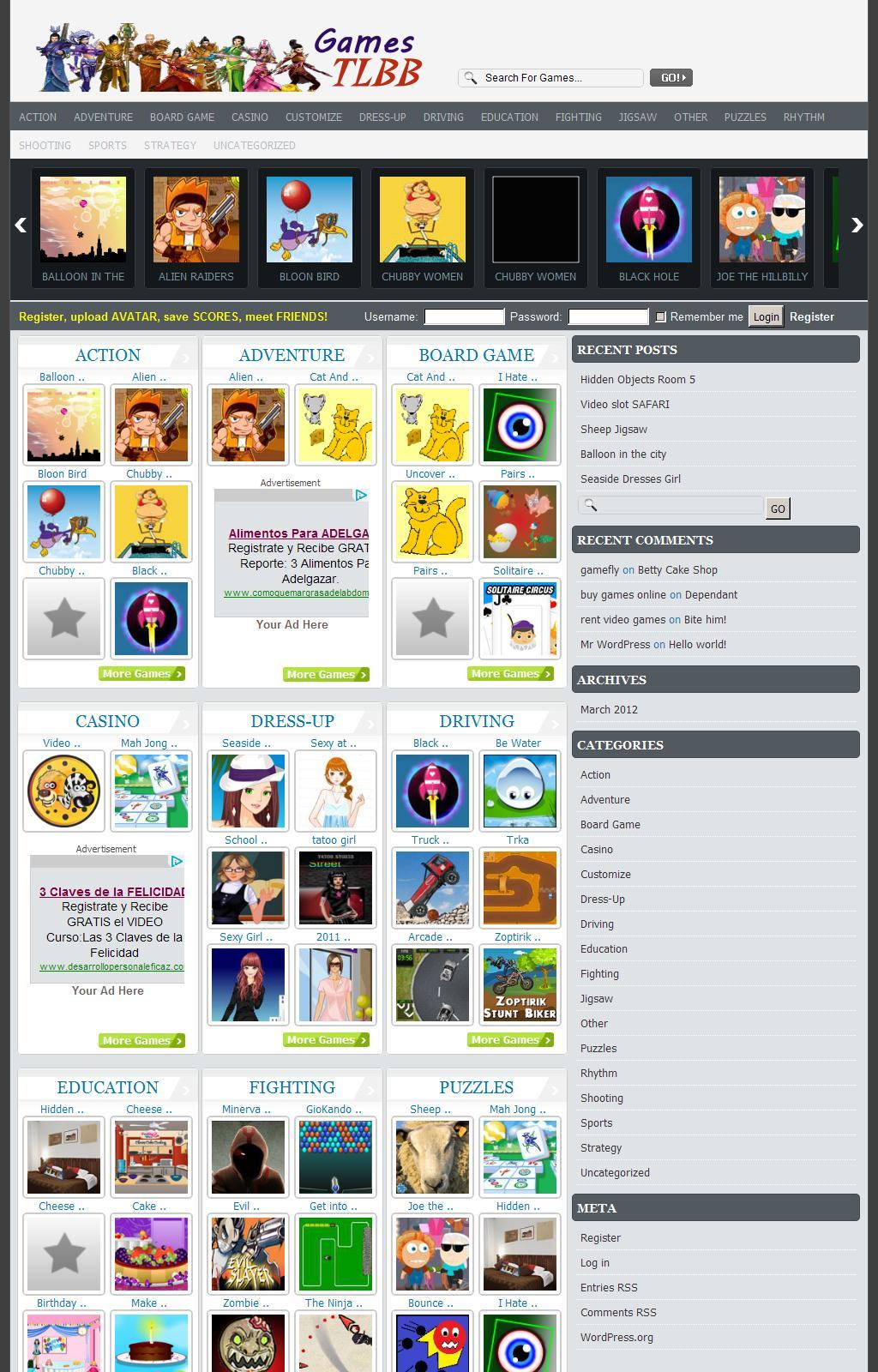 GamesTLBB – Games, Fun, Entertainment & more - Games, Fun, Entertainment & more