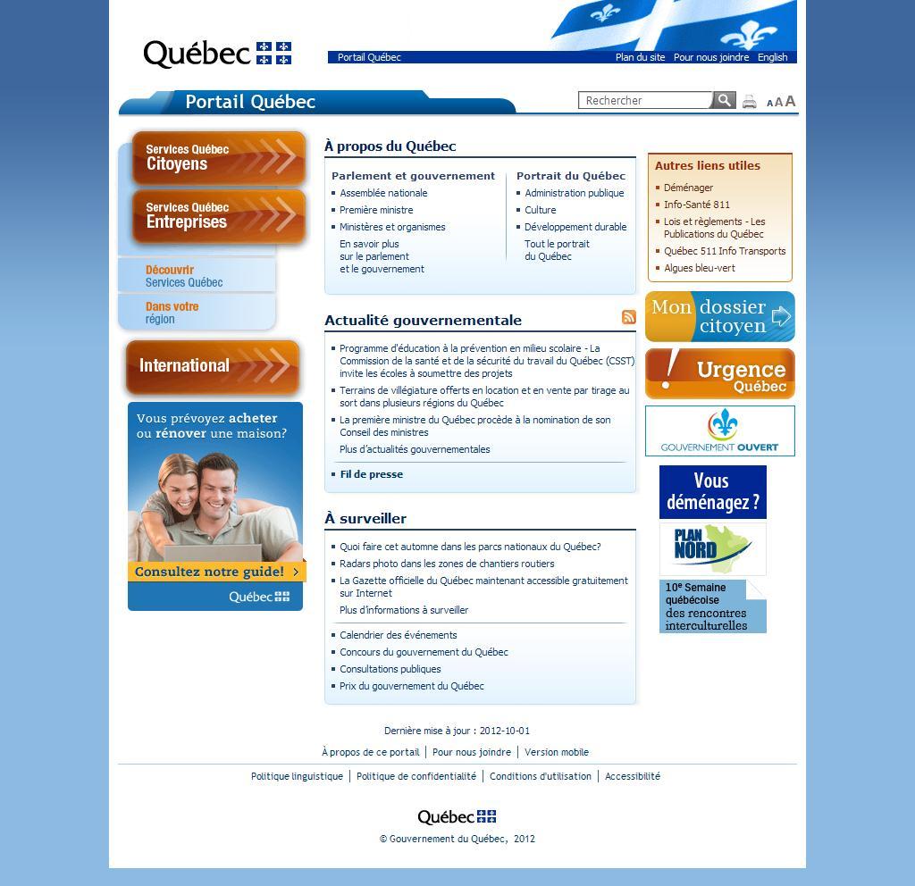 Portail Québec