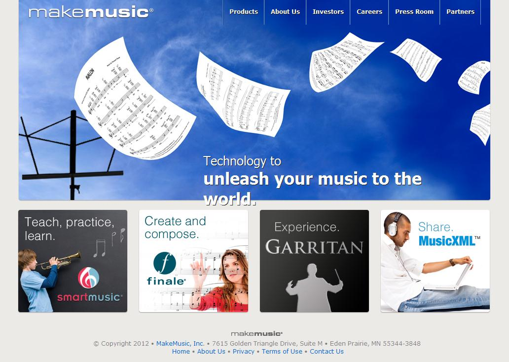 Music Notation, Education and Composition Software | MakeMusic, Inc.