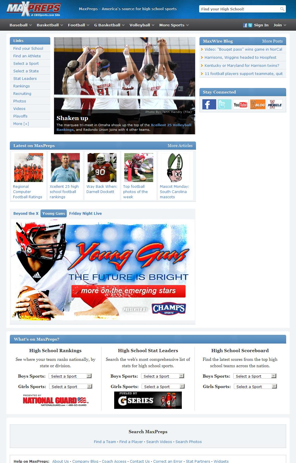 High School Sports - MaxPreps
