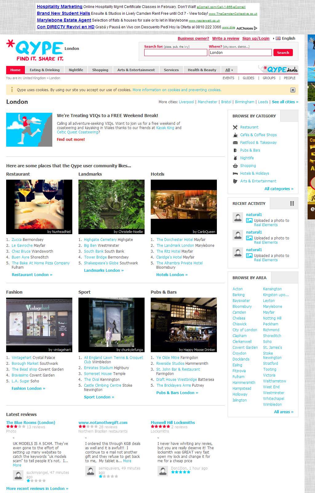 Berlin: Restaurants, Nachtleben, Hotels, Ärzte - Bewertungen von Qype Nutzern