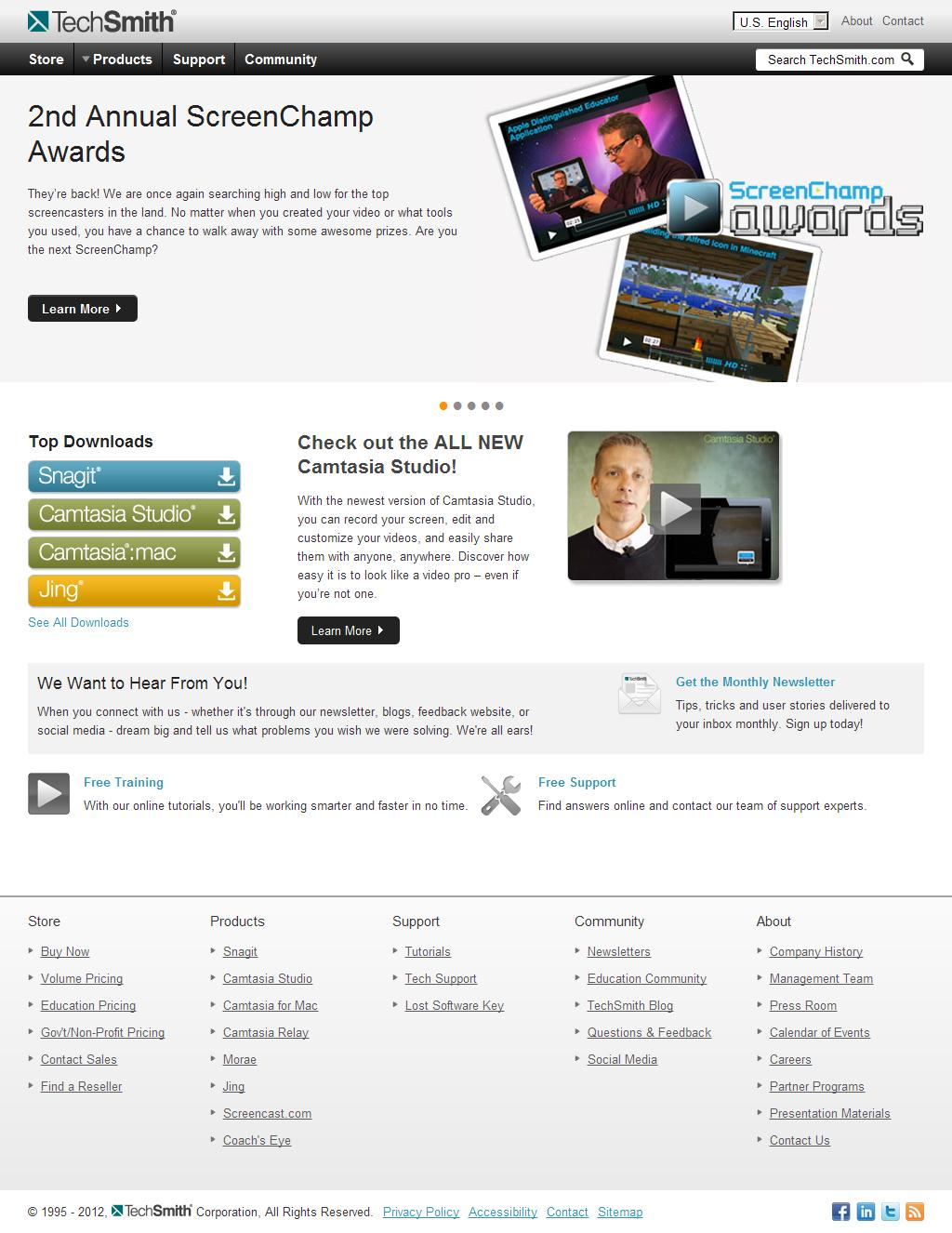TechSmith - Screen Capture and Recording Software