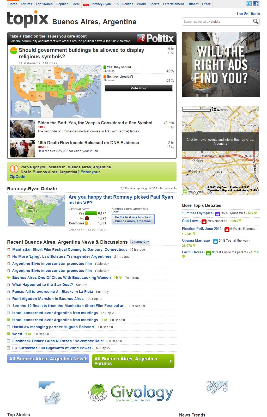 Topix: Your town. Your news. Your take.