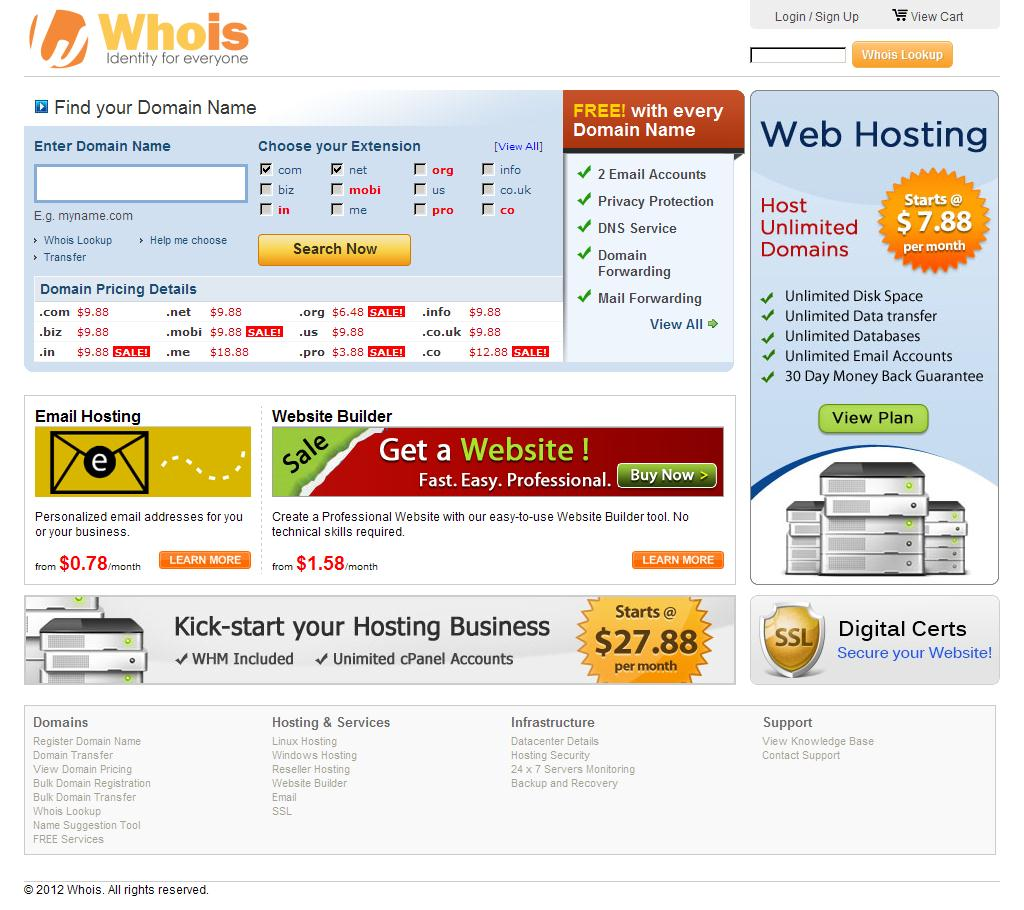 Whois.com - Domain Names & Identity for Everyone