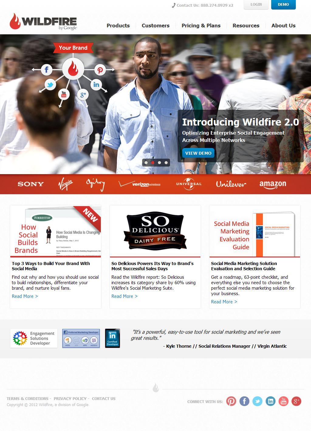Wildfire | Complete Enterprise Social Media Marketing Software