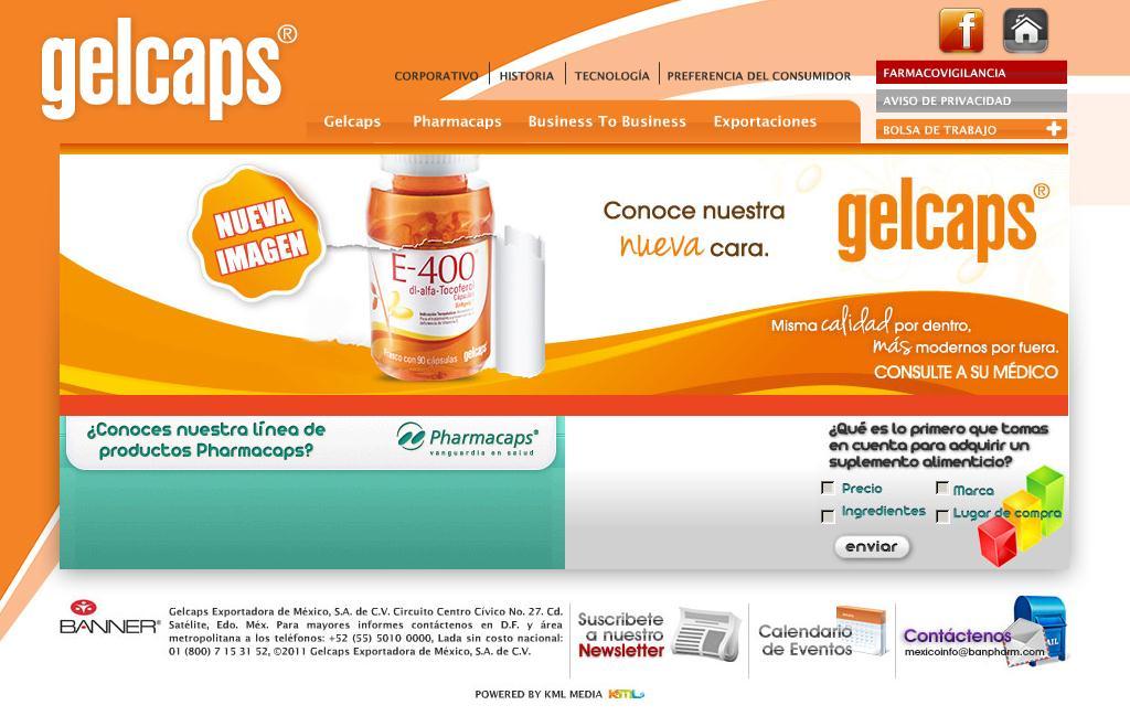 GELCAPS Exportadora de México. S.A. de C.V.