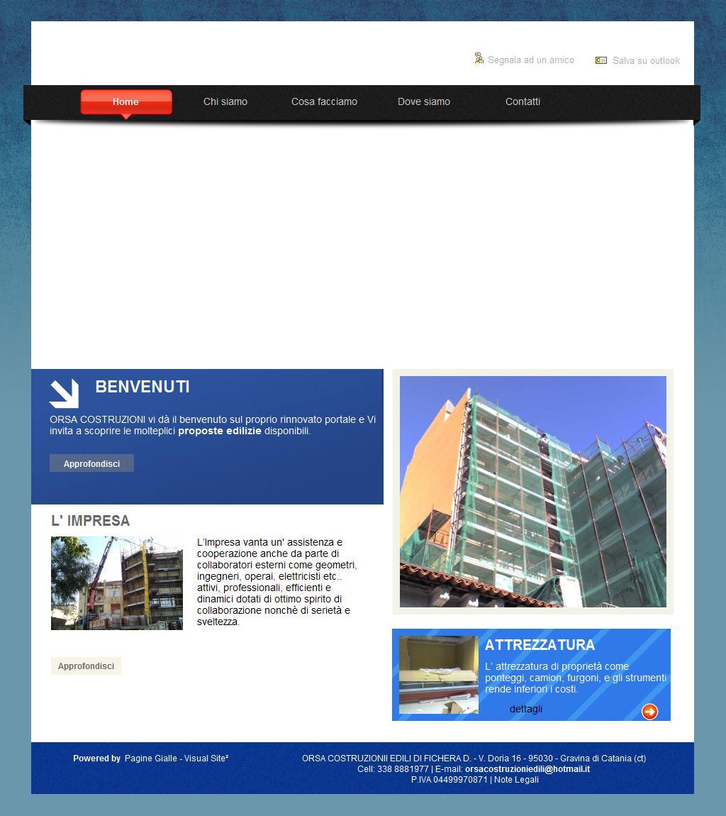 Imprese Di Costruzioni Catania sitios web de orsa costruzionii edili di fichera d. | trade