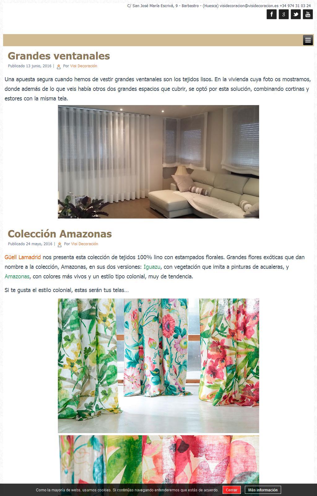 webs decoracion Sitios Web De VISI DECORACIN Trade Nosis