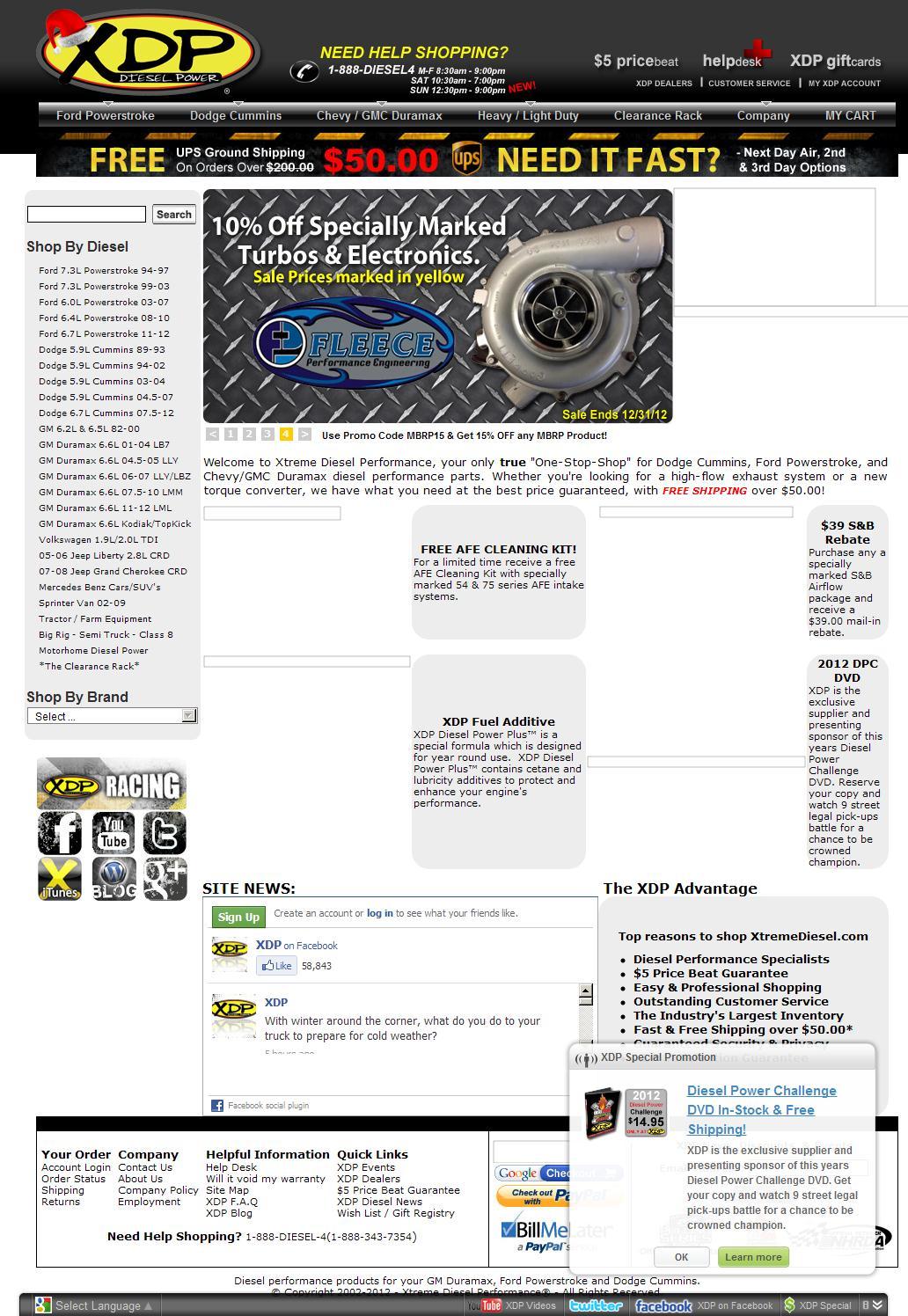 Xtreme Diesel Performance - XDP Diesel Power Performance Parts