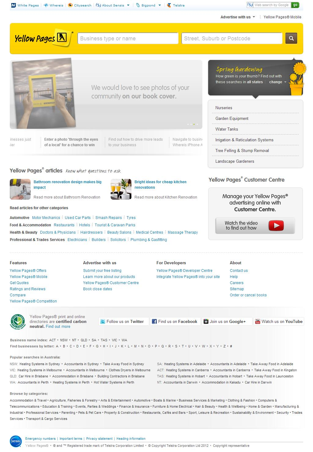 Yellow Pages® | Your Local Australian Business Directory
